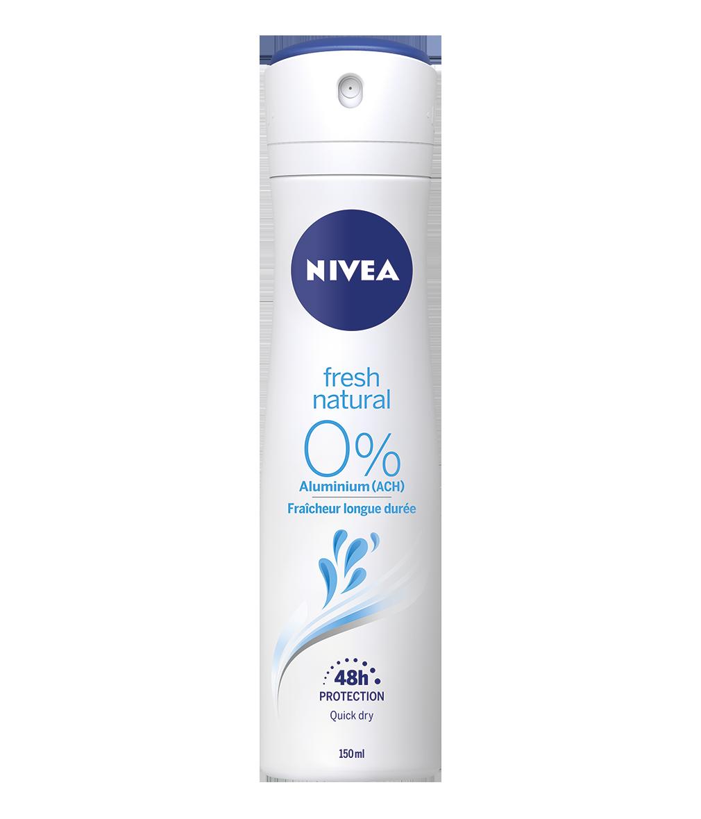 81619 Nivea 0% ALUMINIUM Fresh Natural Déodorant 200 ml