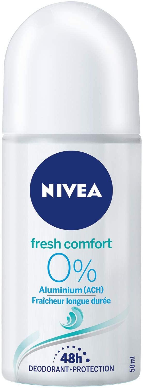 NIVEA Déo Bille Féminin Fresh Comfort 0% Aluminium