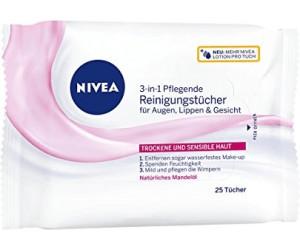 81906 Nivea Visage Daily Essentials lingettes nettoyantes pour peau sensible 25 par paquet