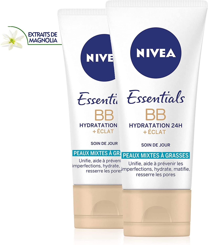 86499 NIVEA Essentials BB Cream Hydratation 24H +Éclat 50 ml