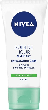 NIVEA Soin de Jour Essentials 24H Hydratation Intense +Matifiant 50 ml