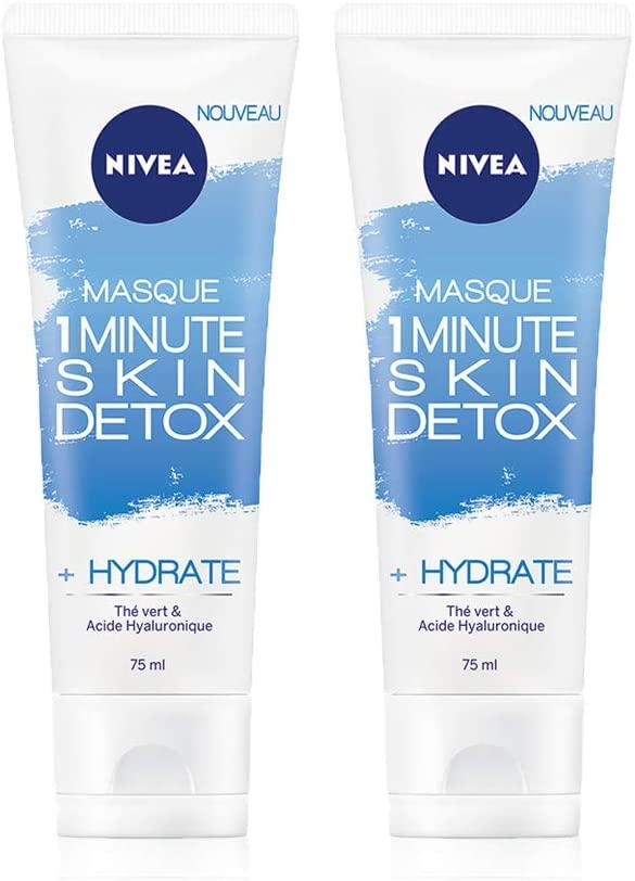 NIVEA Masque 1 Minute Skin Detox + Hydrate 75 ml