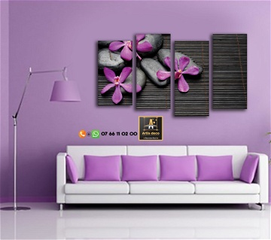Tableau décoration ZEN salon