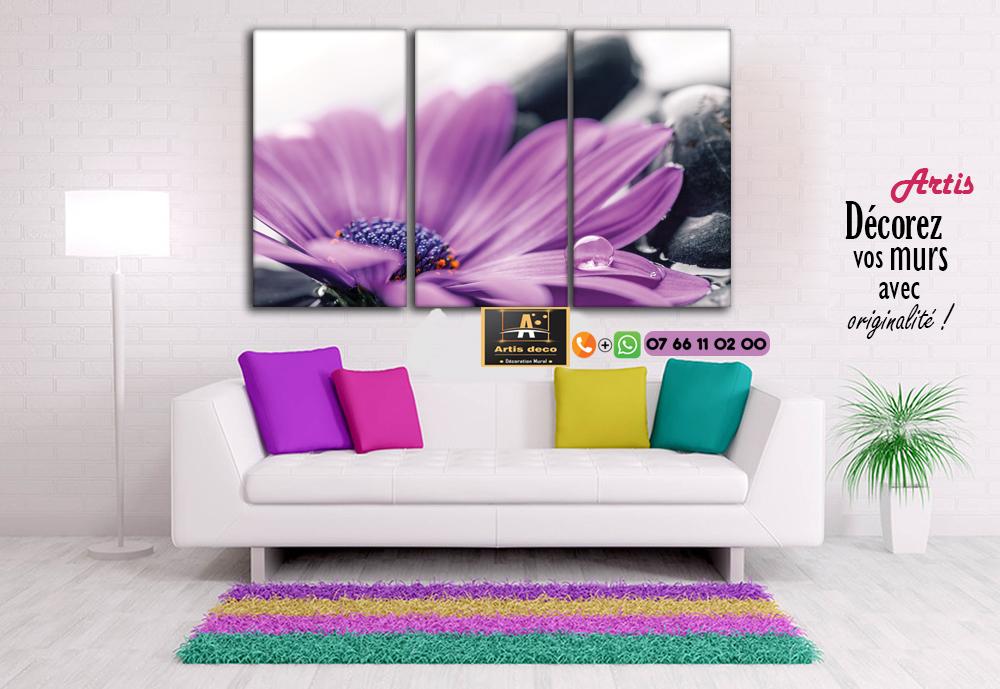 Tableau zen violet