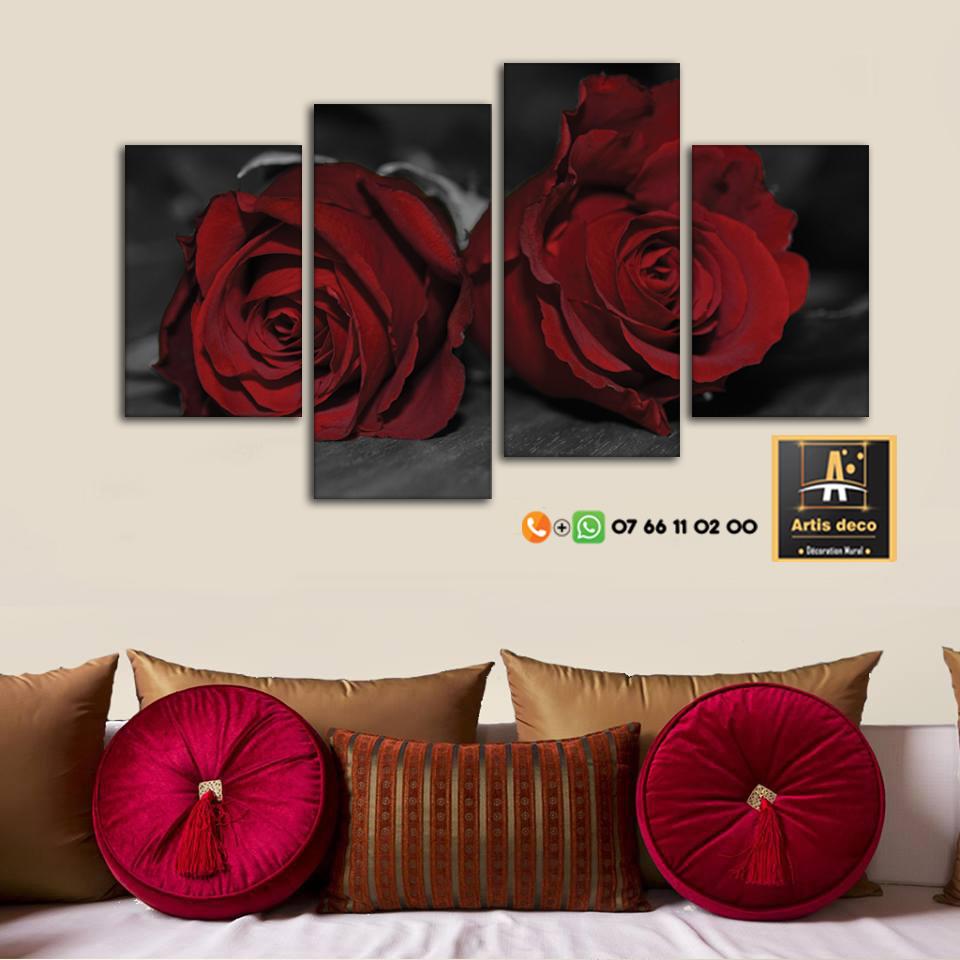 Tableau de fleurs pour la décoration intérieure