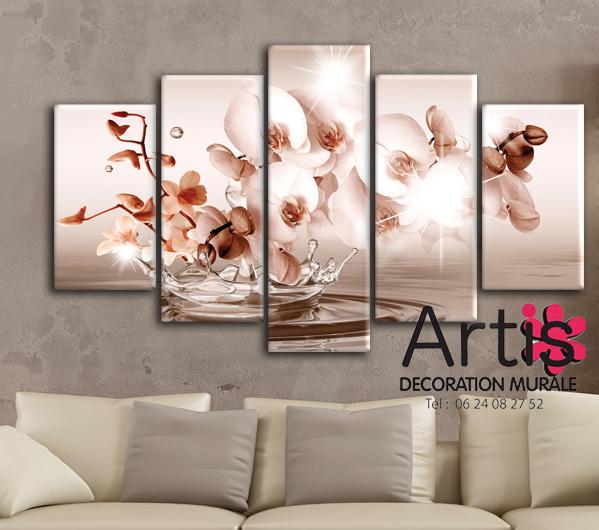 Tableau Déco Floral Orchidée