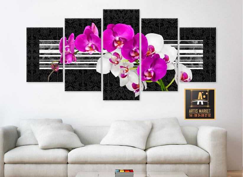 Tableau - Orchidées modestes -