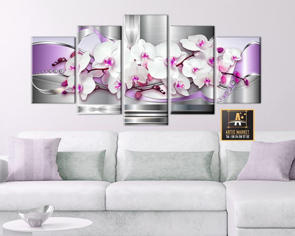 Tableau Déco Orchidée