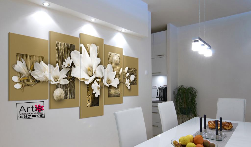 Tableau – déco magnolias -