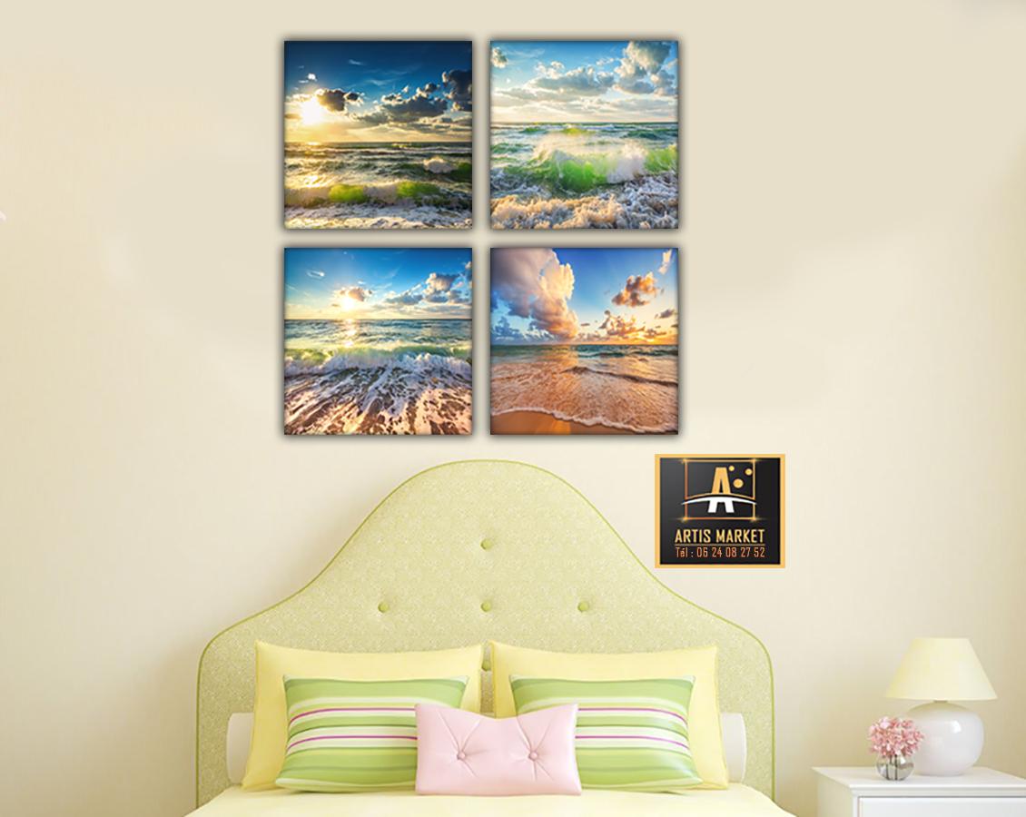 Tableau - Sur la plage des rêves