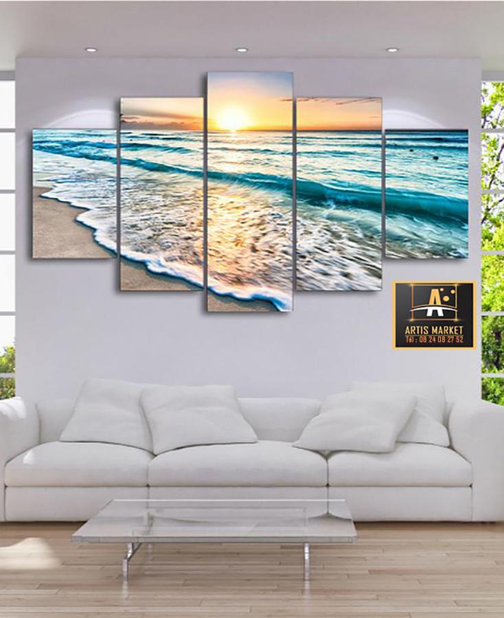Tableau déco paysage plage