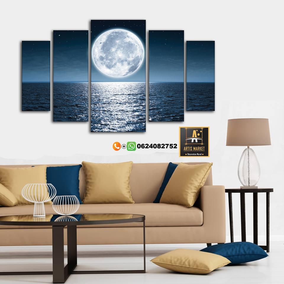 Tableau Paysage La Lune