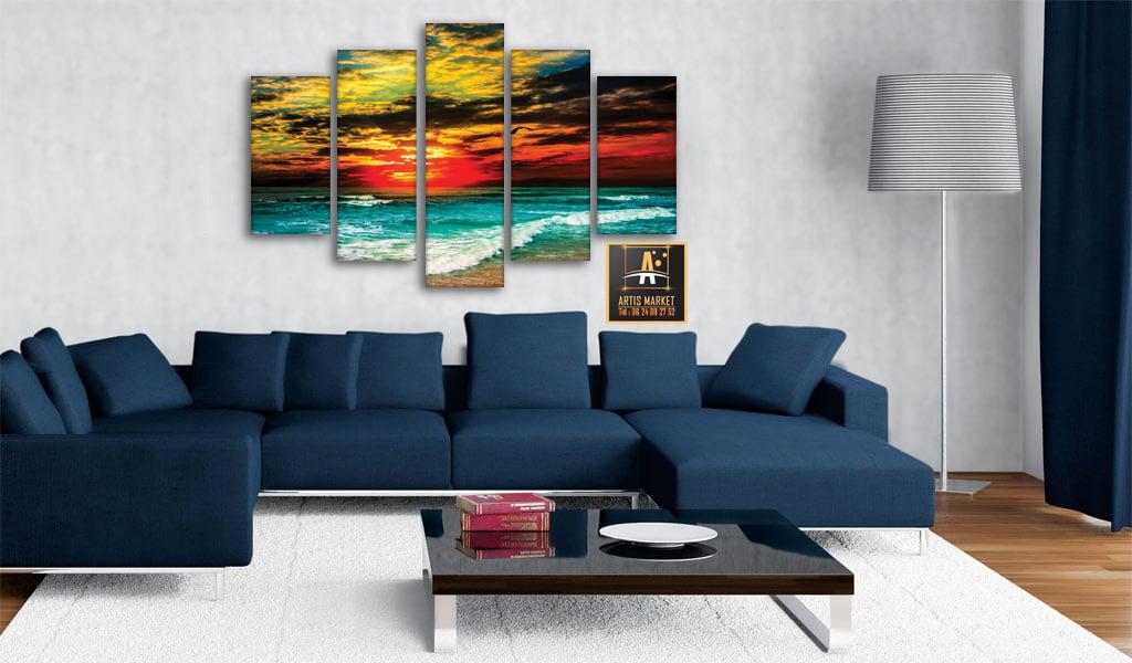 Tableau Paysage Sunset