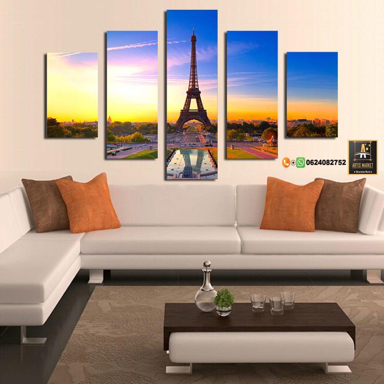 Tableau moderne Tour Eiffel