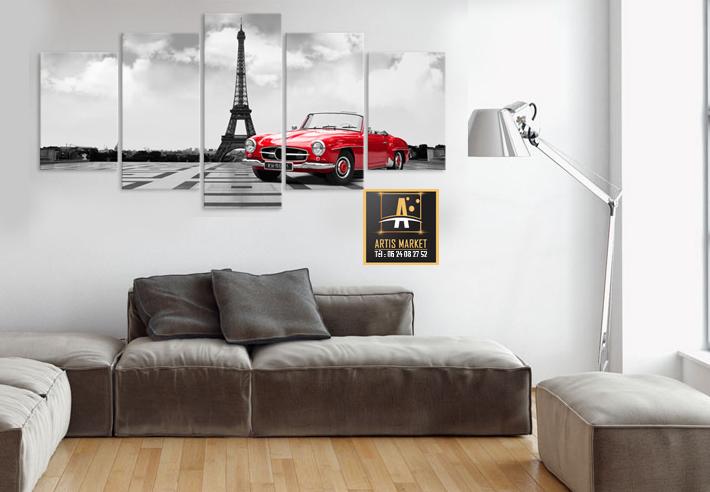 Tableau déco Tour Eiffel