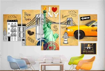 Tableau  I love New York