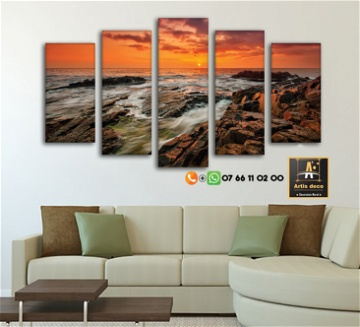 Tableau Nature Paysage LIGHT WAY 10