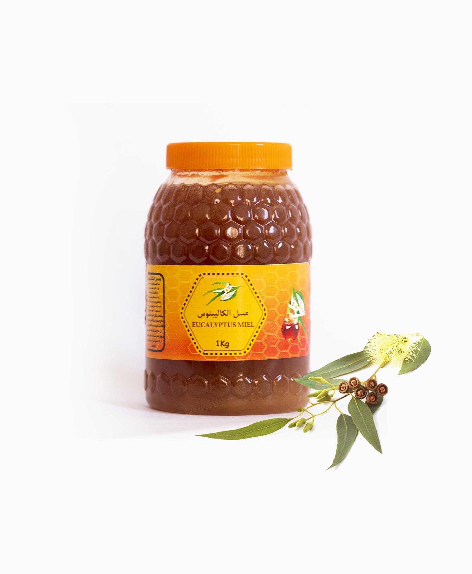 Miel d'Eucalyptus 1 KG  عسل الكالبتوس