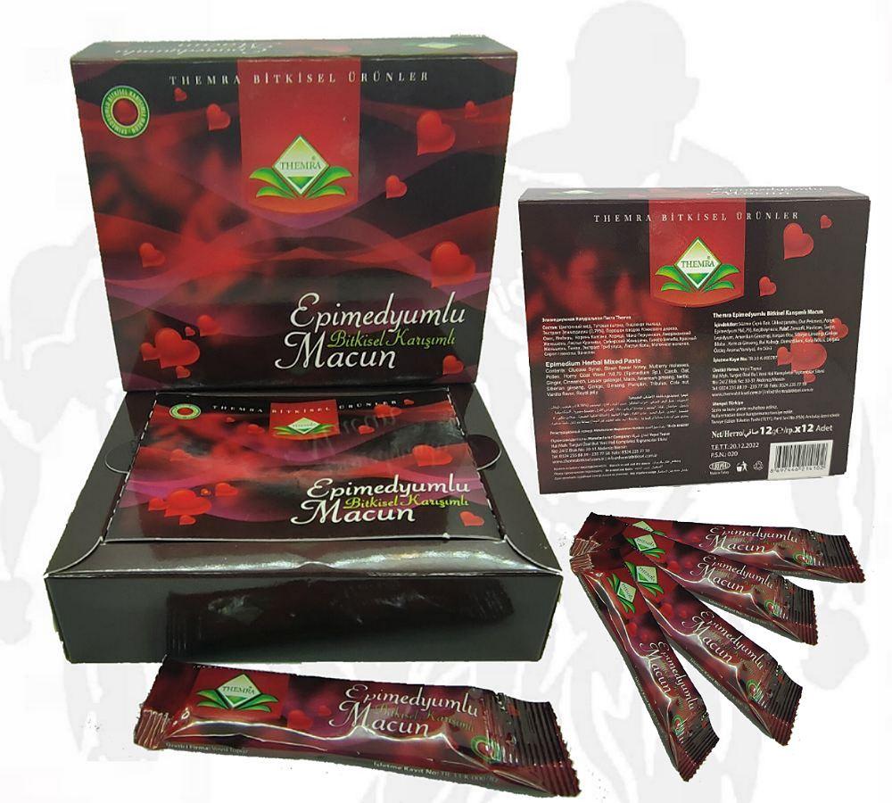 miel royal sexuel aphrodisiaque naturel 12 sachets  miel sultan viga themra epimedyum