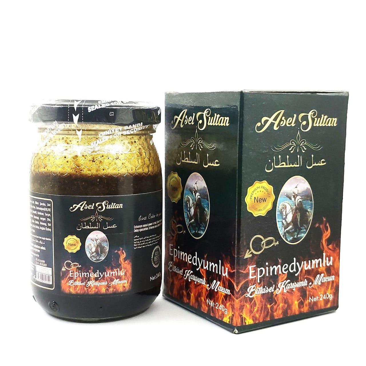miel sultan aphrodisiaque force sexuel 240 g العسل سلطان مثير للشهوة الجنسية