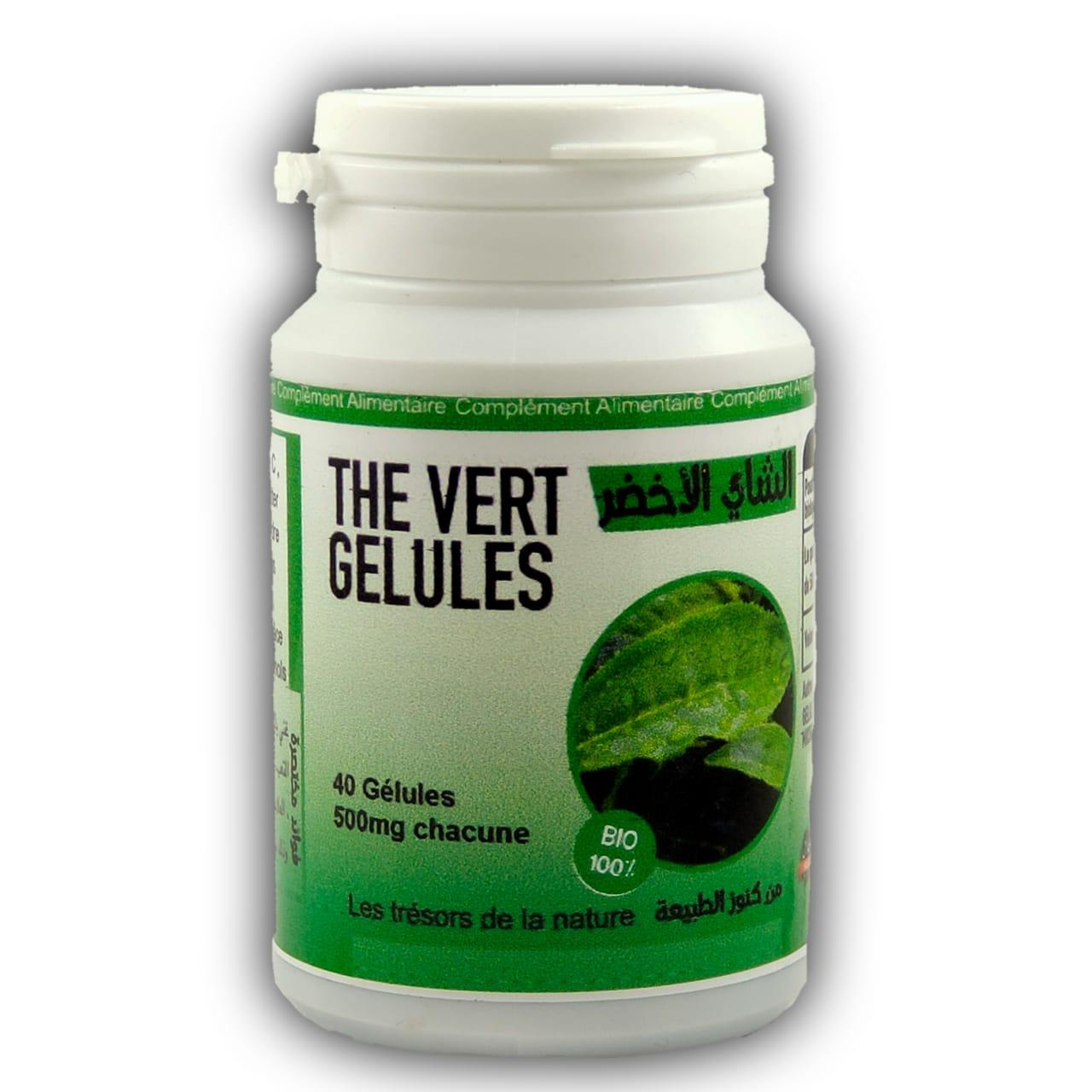 Thé Verte Minceur Facilite la Perte de Poids Naturelle الشاي الأخضر للتخسيس يسهل فقدان الوزن الطبيعي