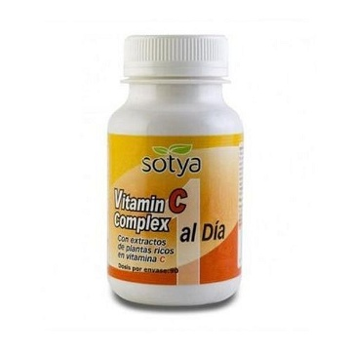 vitamine c  complexe Supplément de 90 comprimés  énergétiques naturel فيتامين س الملحق من 90 حبة الطاقة