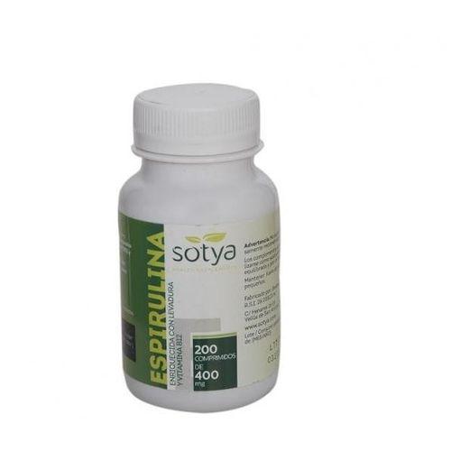 Spiruline 200 comprimés de 400 mg سبيرولينا 200 حبة من 400 ملغ