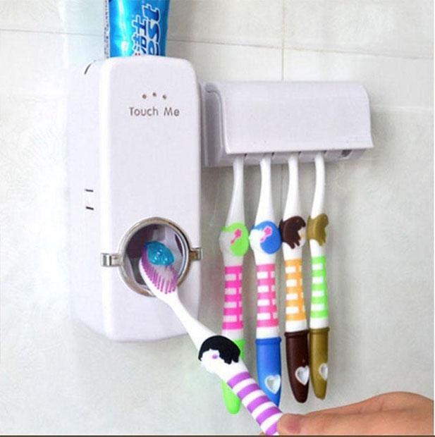 Press2Paste - Distributeur de brosse à dents