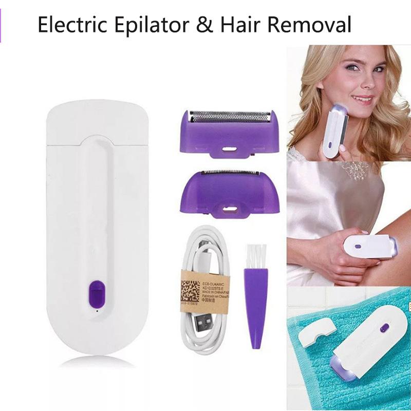 Epilateur électrique  pour tous les endroits du Corp