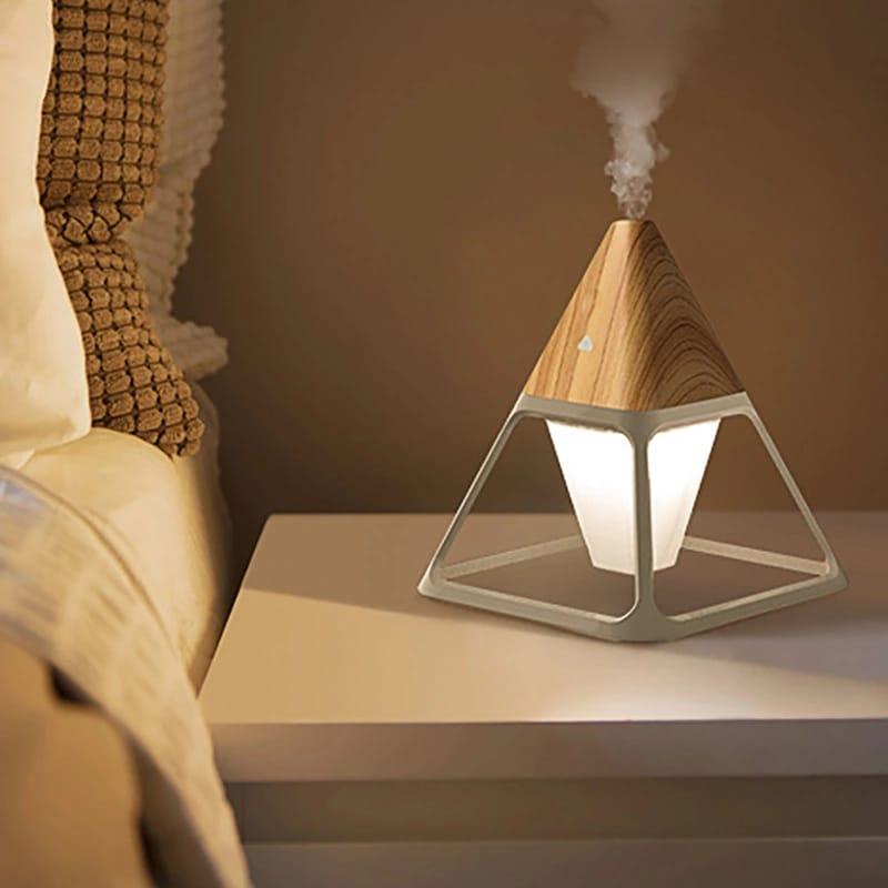 Lamp Diffuseur LED avec télécommande Pour Maison 150 ML ET Huiles 10 ml essentielles Gratuite