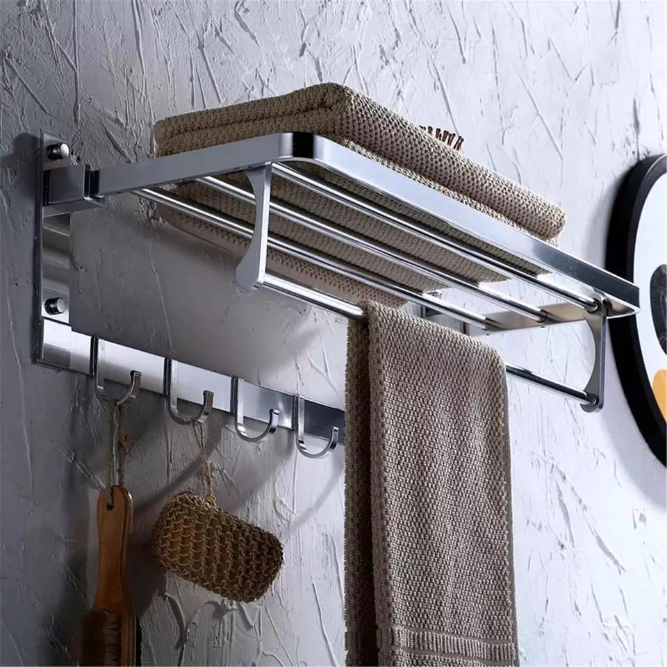 Porte-serviettes en acier inox qualité garante 100%