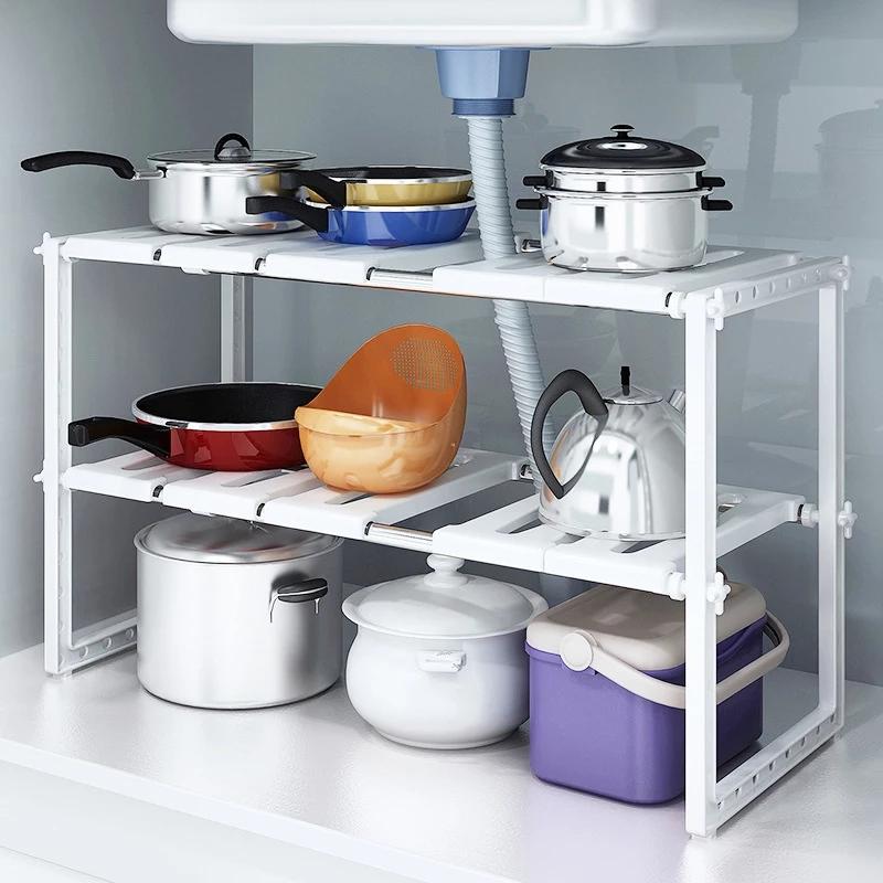 Support de cuisine réglable avec cadre de disposition de espace