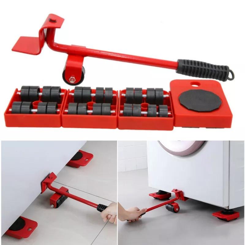 Ensemble de rouleaux de Transport de meubles  5 pièces