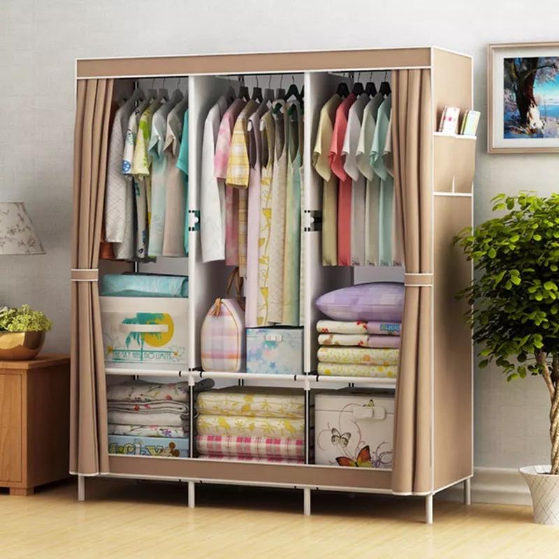 L'armoire pour organiser les vêtements est disponible en 3 couleurs