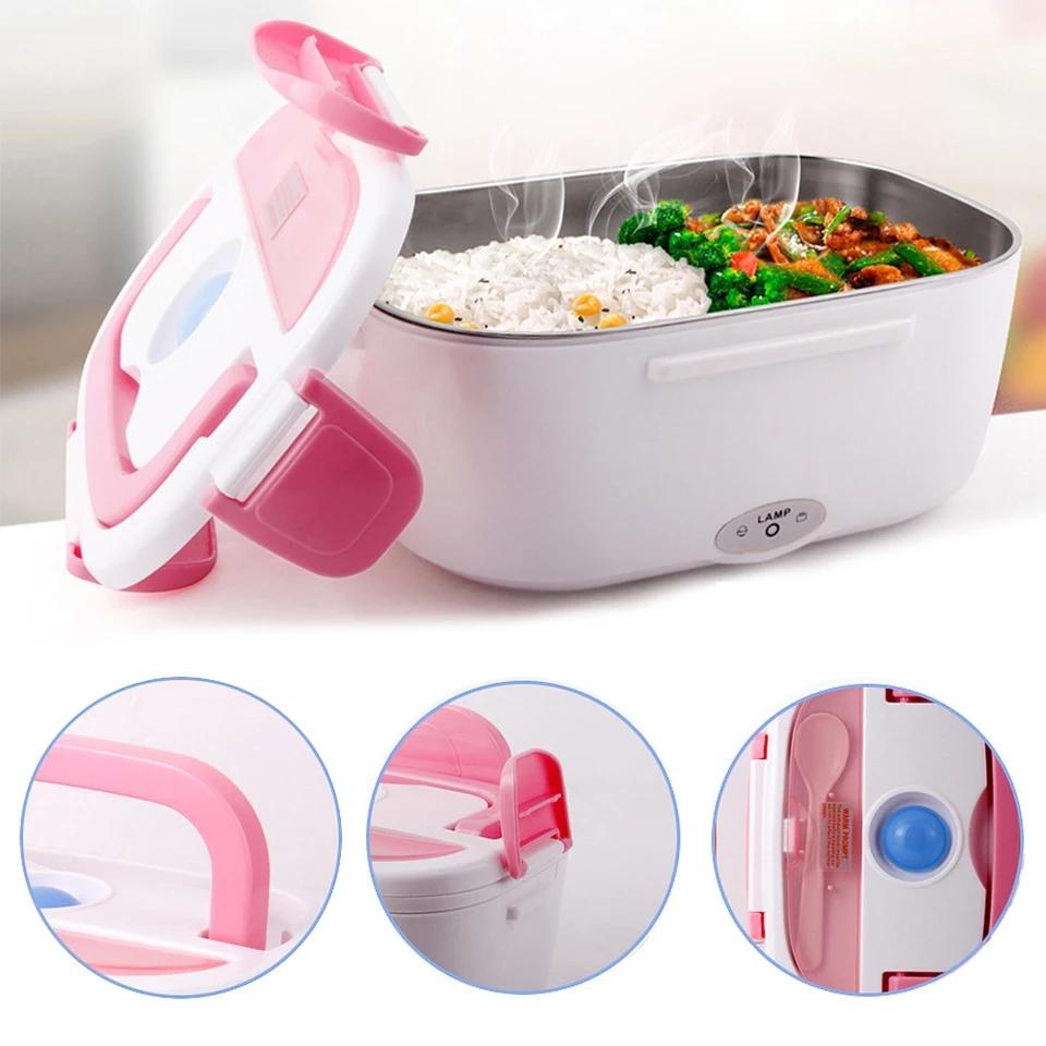 Boîte à Lunch chauffante électrique Portable 12V1.5L
