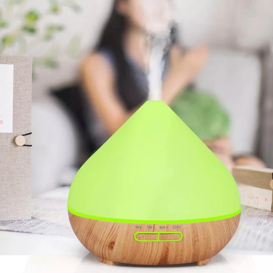 Diffuseur d'aromathérapie avec 7 couleurs changeantes ,avec télécommande 500ml