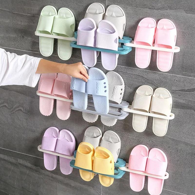 Étagère à chaussures murale pantoufles