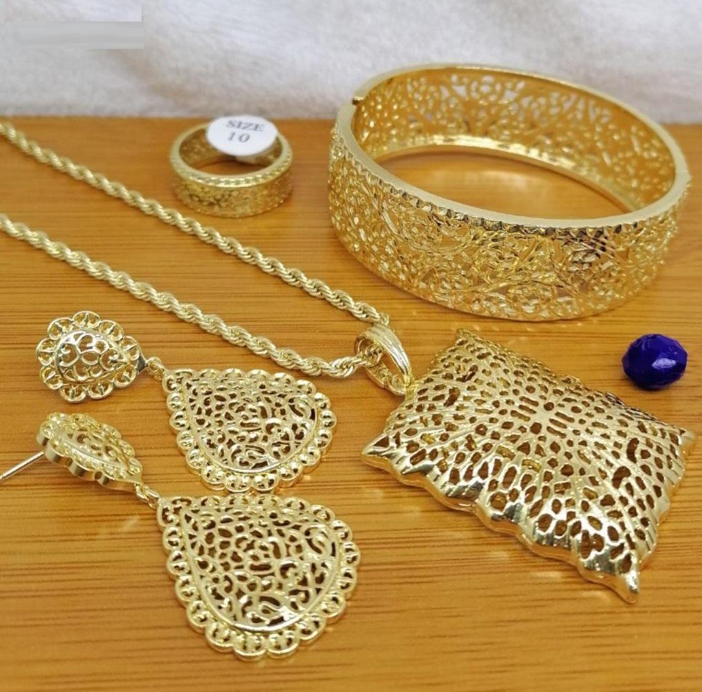 طقم مجوهرات بلاكيور مغربية تقليدية