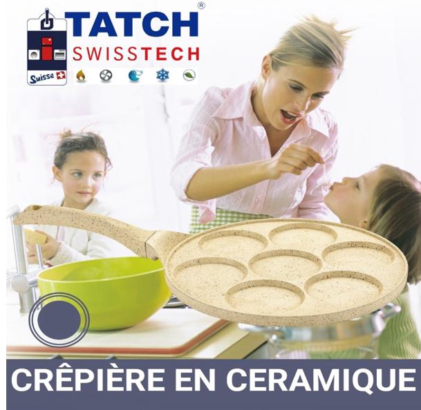 Crepiere en Ceramique Tatch مقلاة البغرير العجيبة