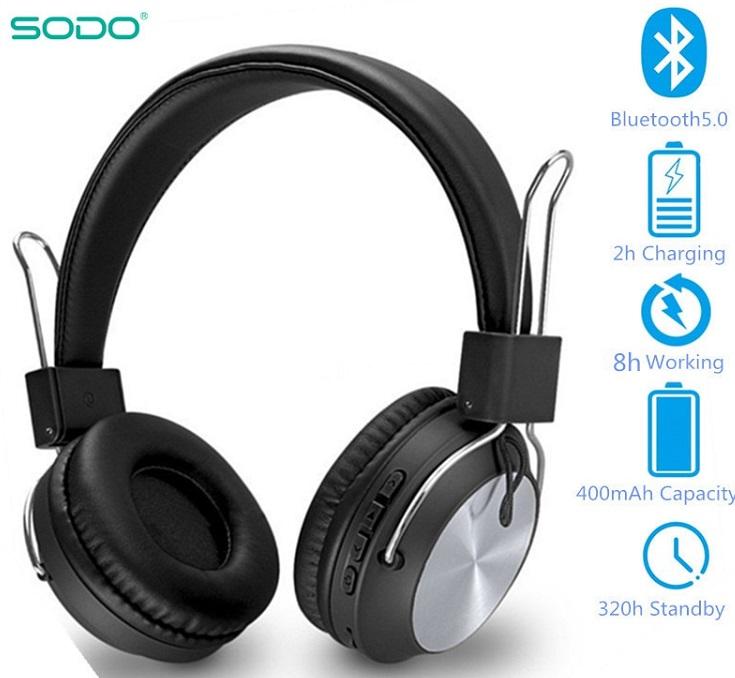 Casque SODO SD-1001 Bluetooth Maroc