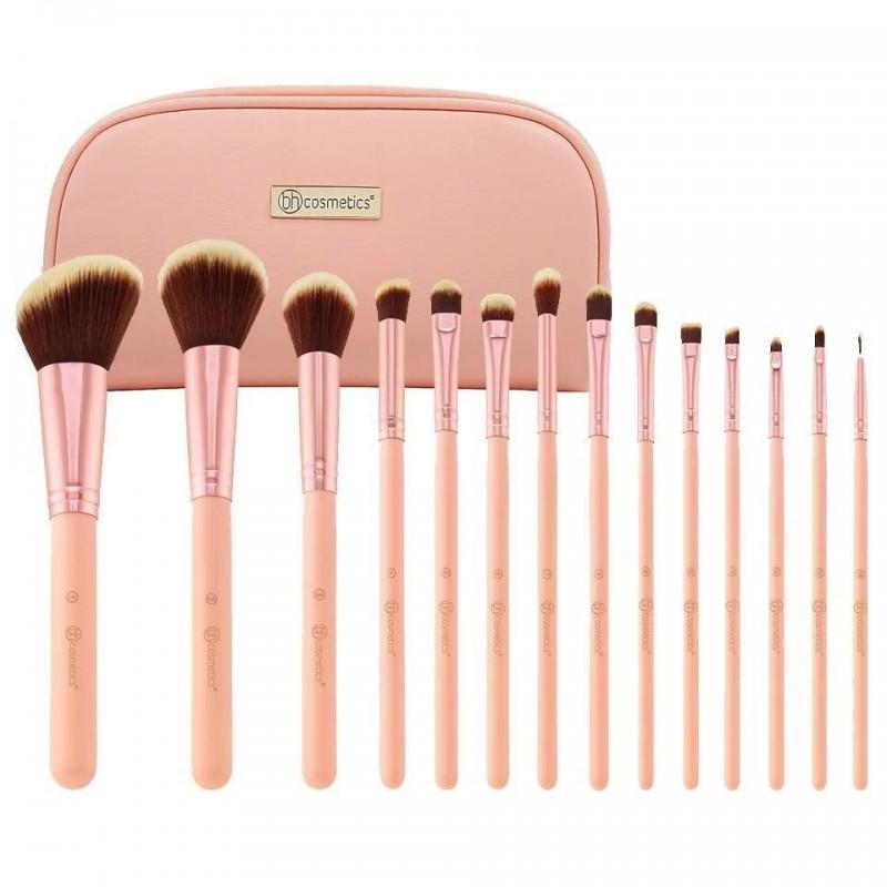 14Pcs Pinceaux Maquillage Maroc