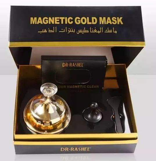 طريقة استخدام ماسك المغناطيس بنترات الذهب