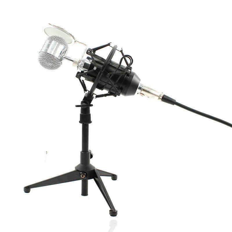 Microphone professionnel avec trépied