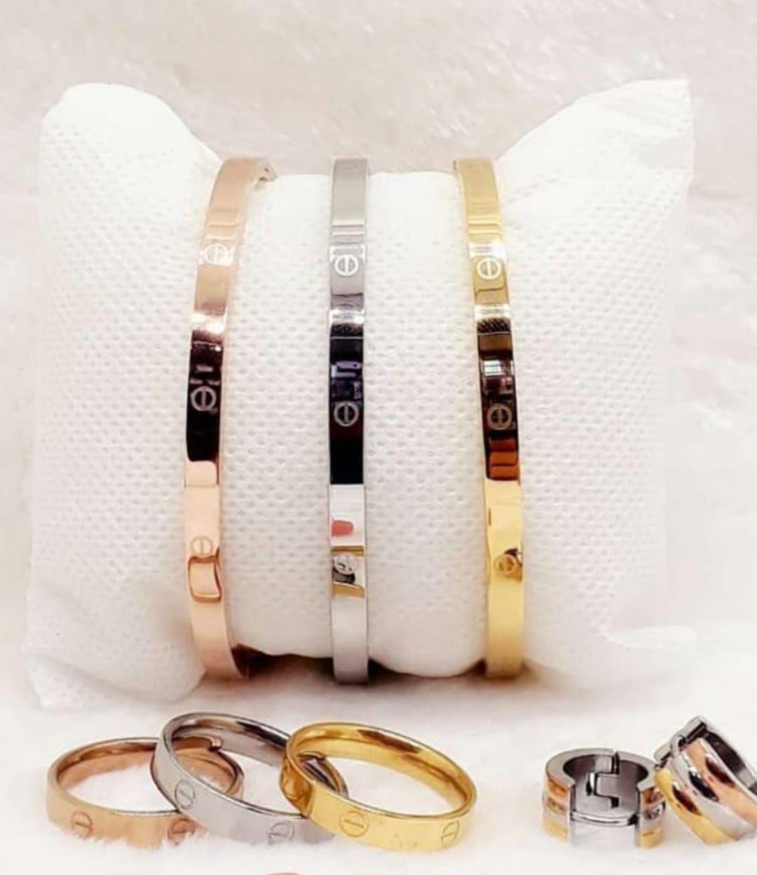 Bracelet 3 Couleurs Cartier