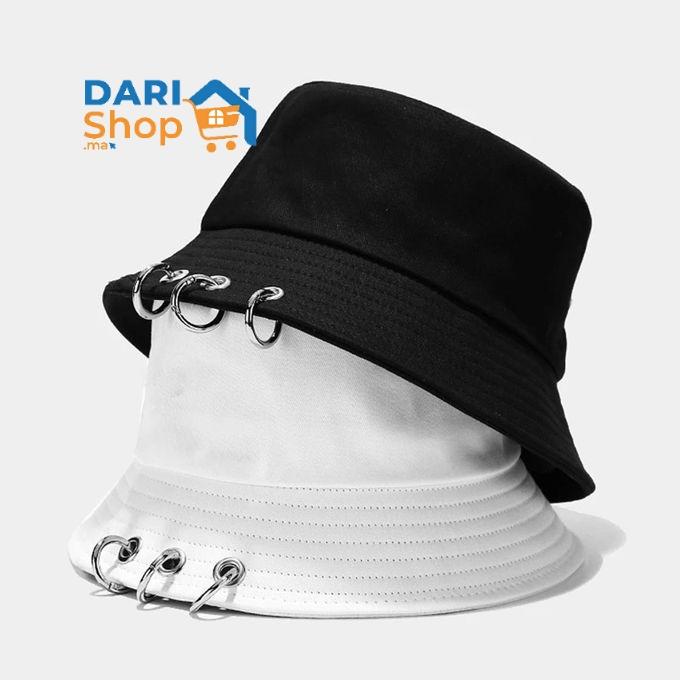 قبعة بوب رائعة مزينة بحلقات