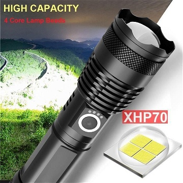 LED Zoom Lampe torche