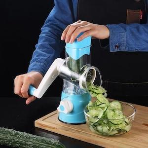 الجهاز اليدوي المساعد مبشرة وقطاعة متعددة الاستعمالات للمكسرات والخضار والجبن