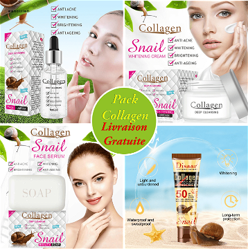 Pack Collagen Escargot