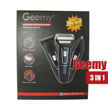 Geemy GM-573 Rechargeable 3 in 1