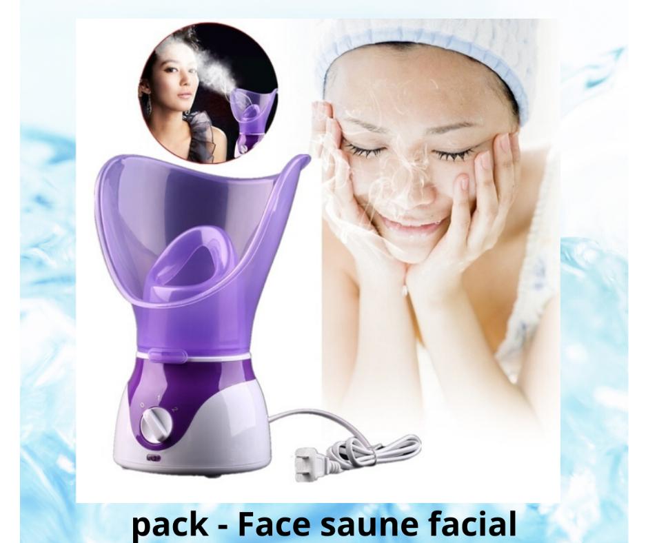 Vapeur Nettoyant Visage - Machine Facial Steamer - Spa et Sauna - MAUVE